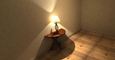 Wat zijn brocante lampen?