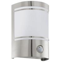 Wandlamp met Sensor Eglo Cerno Staal 30192