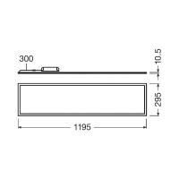 Ledvance Panel LED 1200 40W 840
