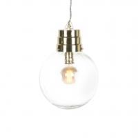 Design hanglamp glas met messing - Chennai