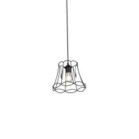 Hanglamp Granny Frame 20cm zwart