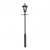 Buitenlamp Virgo 1-lichts groen 62cm inclusief laddersteun 570-600
