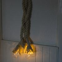 Kerstverlichting bundel touw 3 warm wit LED