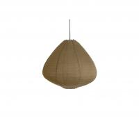 HKLiving Lampion hanglamp ø 65 cm kakhi bruin katoen