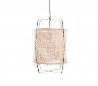 Z11 hanglamp Ø 49 cm met off-white hoes bamboe papier