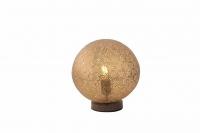 Landelijke tafellamp 1-lichts 30cm in roestbruin - Kreta