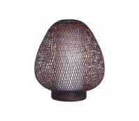 Twiggy AW tafellamp bruin ø30 cm bamboe