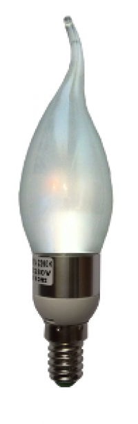 Led E14 - Chili mat kaarslamp - 3W Dim 2300K