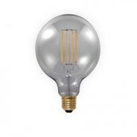 LED Globe lamp 6W E27 dimbaar filament Segula grijs SG-50503