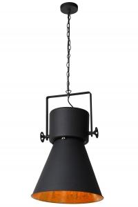 Lucide MARLOWE Pendel E27 H 55cm Zwart