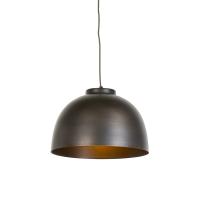 Industriele hanglamp 40cm antiek bruin - Hoodi