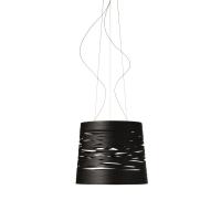Foscarini Tress grande Led hanglamp zwart