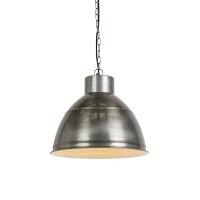 Industriele hanglamp antiek zink - Dexter